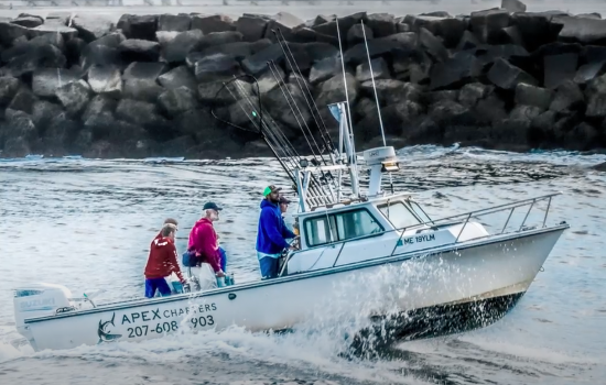 fishing guides maine