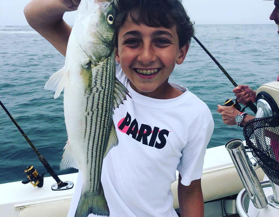 maine striper fishing charters service